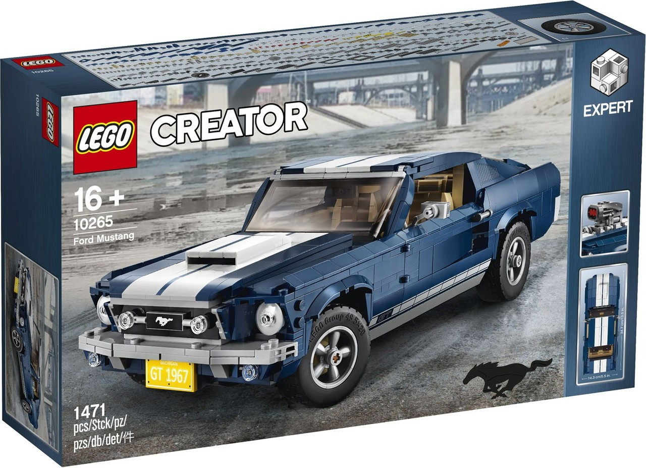 Lego creator ford mustang exclusive set 10265 toywiz