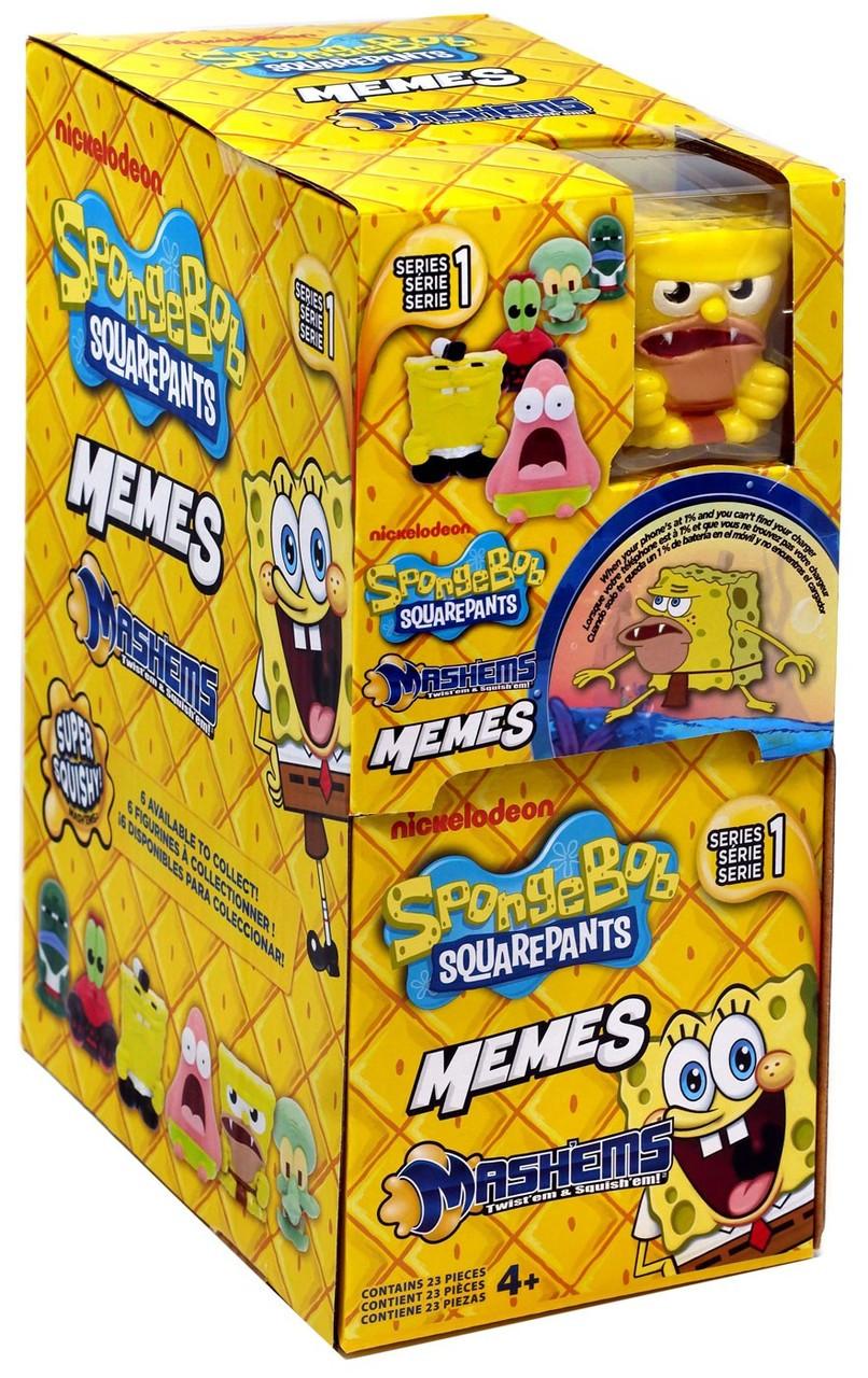 Spongebob squarepants mashems series 1 memes mystery box