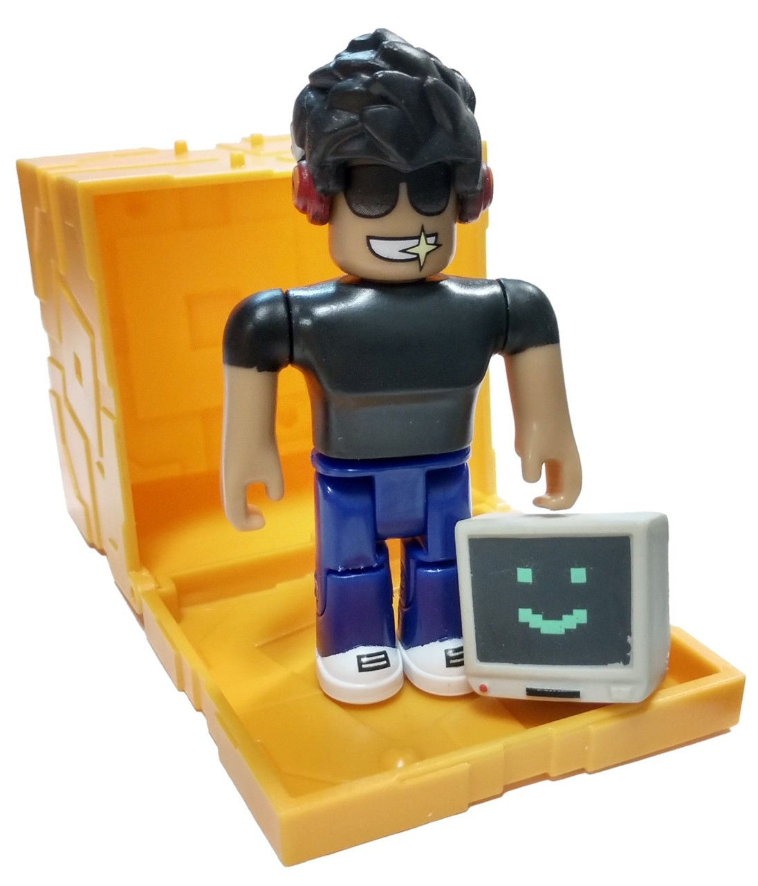 Roblox Series 5 Simbuilder Mini Figure with Gold Cube and Online Code Loose