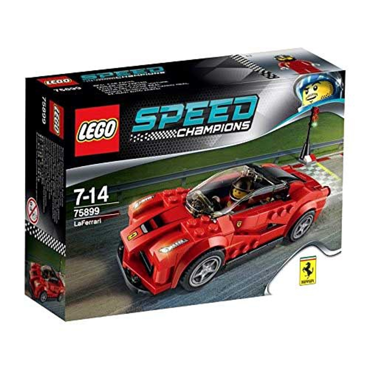 Lego Speed Champions La Ferrari Set 75899 Loose Toywiz
