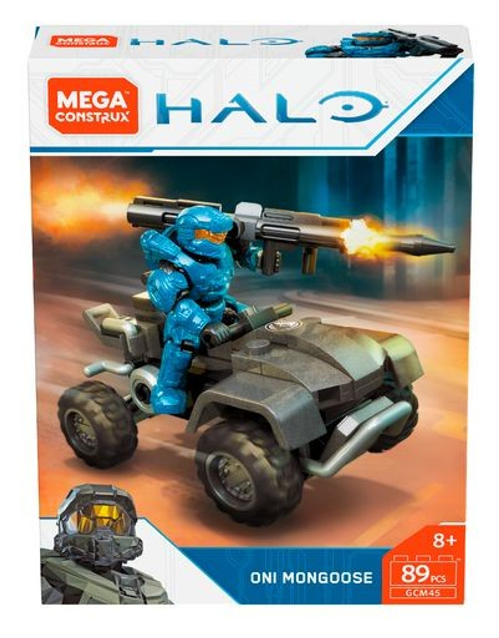 Halo Mega Construx ONI Mongoose Set (Pre-Order ships September)