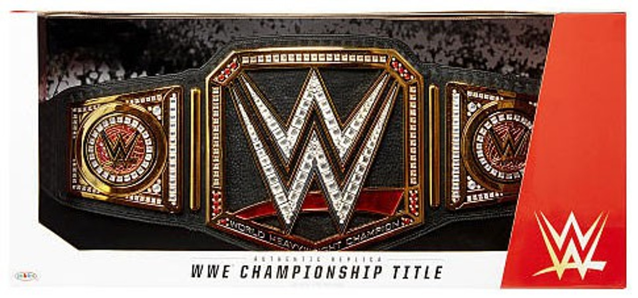 WWE Championship Title Belt Adult WWF REAL Raw // Smackdown Authentic