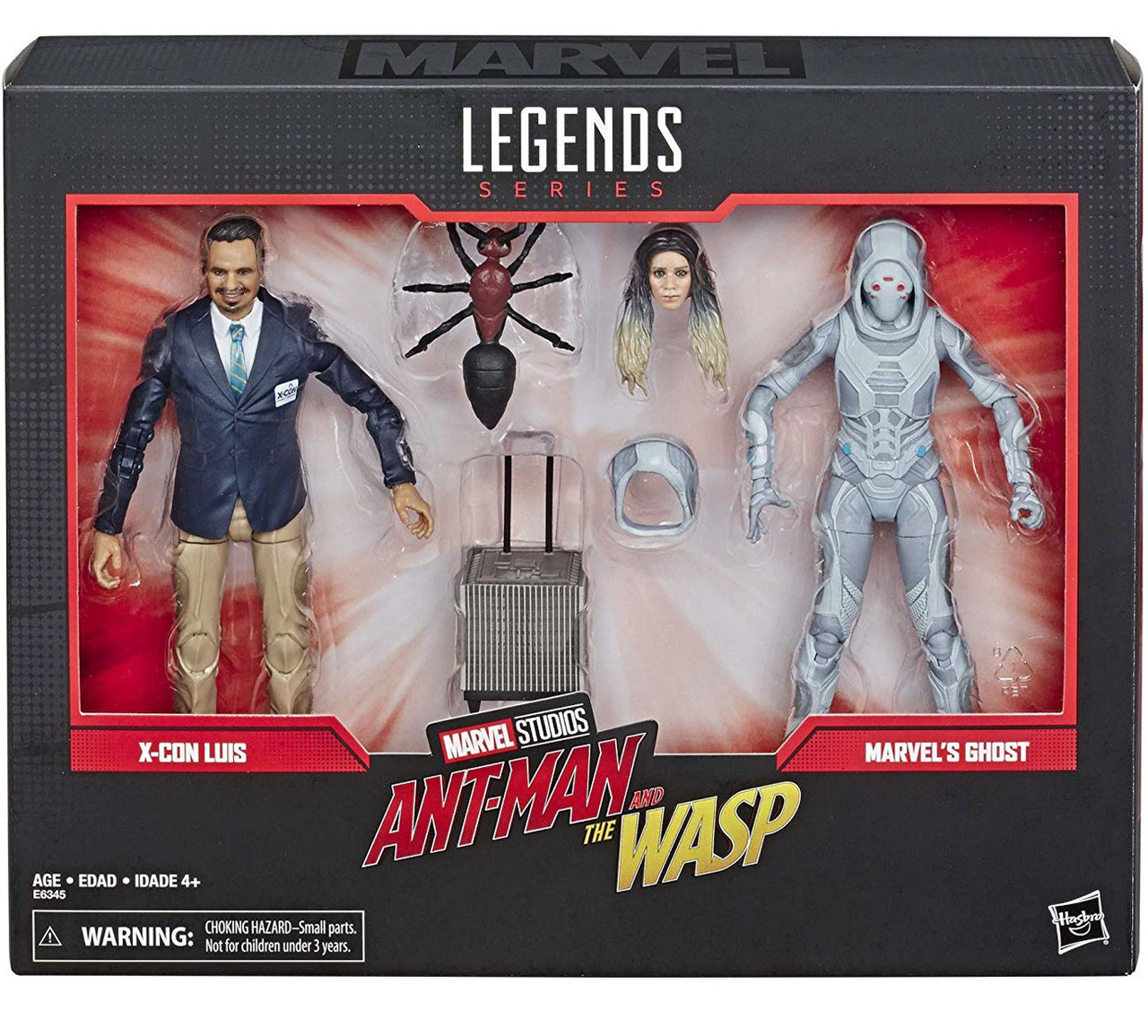Marvel Legends 80th ANNIVERSARIO Action Figure GHOST /& Luis 2-Pack
