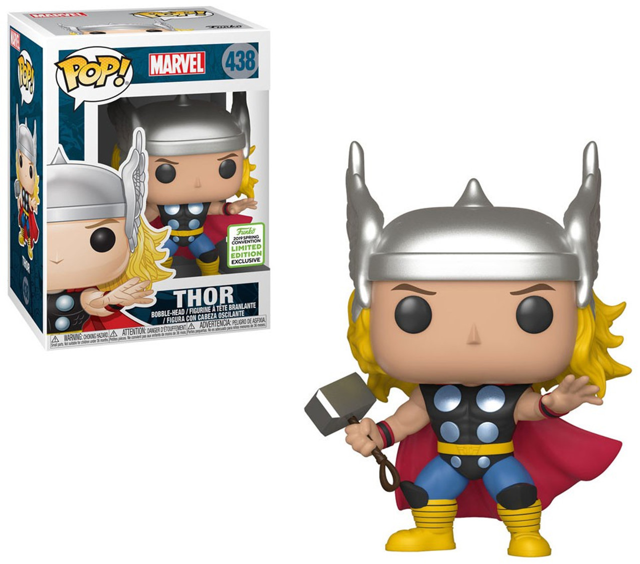 FUNKO POP Marvel Avengers 4 THOR #482 Action Figure Collection Modéle