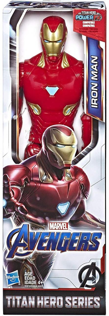 Marvel Avengers Action Figure Titan Hero Iron Man Hasbro