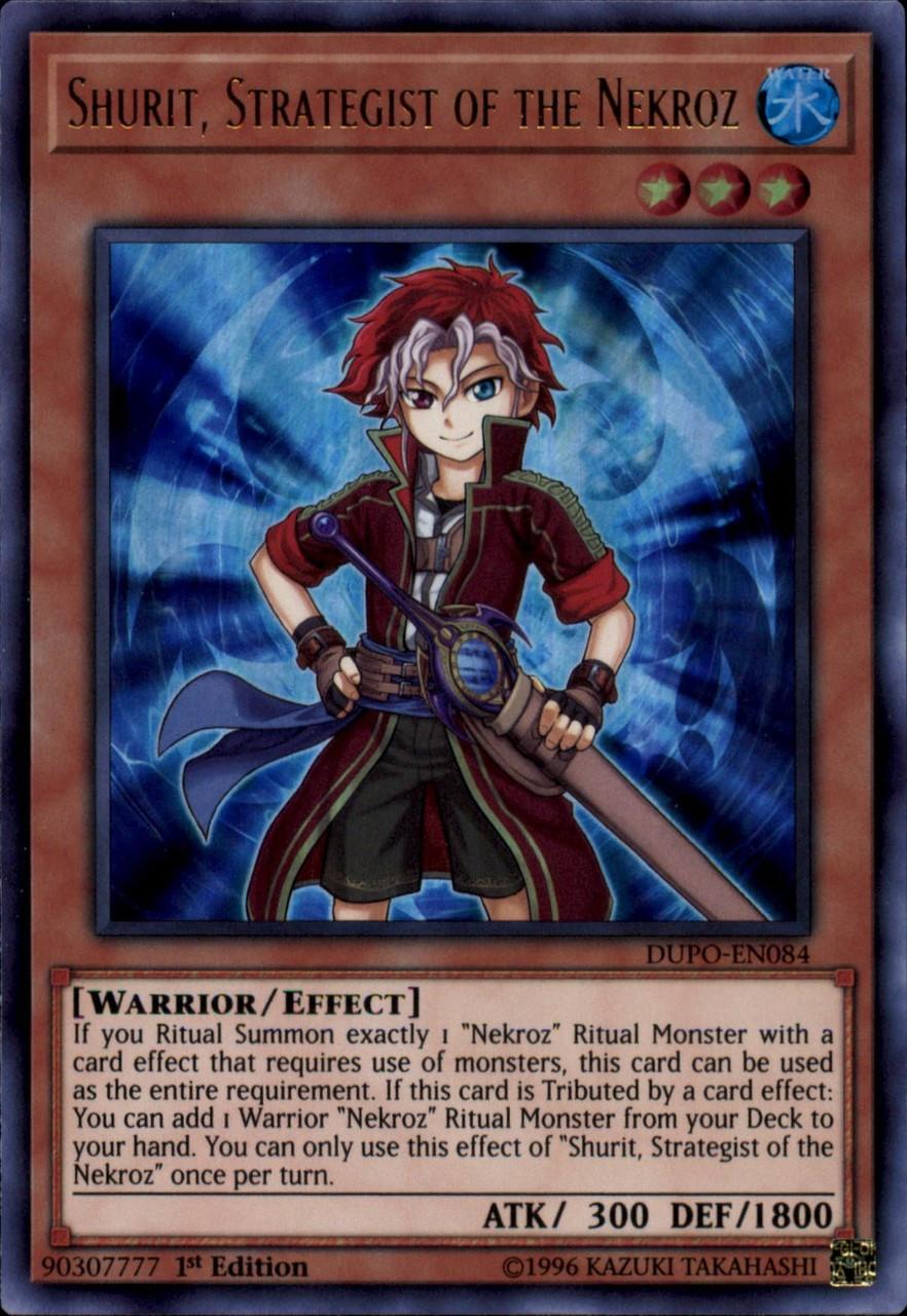 Yugioh Nekroz of Brionac DUPO-EN086 Ultra Rare 1st EditionIN HAND!