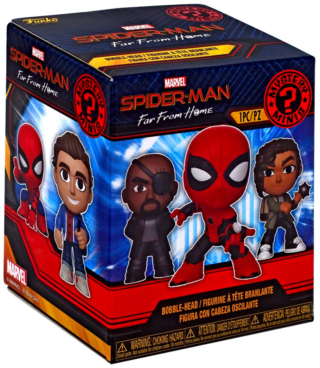 Funko Mystery Minis-Spider-Man-Far from Home