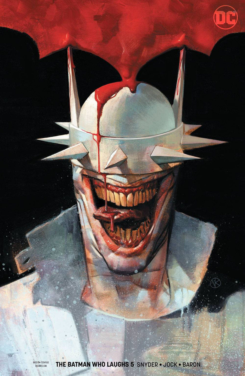 THE BATMAN WHO LAUGHS # 6 VARIANT COVER Comic 2019 1ST PRINTING