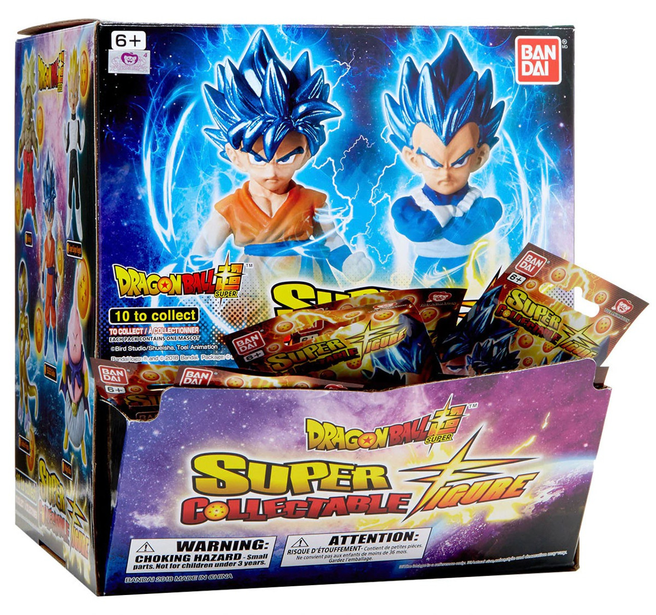 Dragon Ball Super Super Collectable Figure Mystery Box 24 Packs