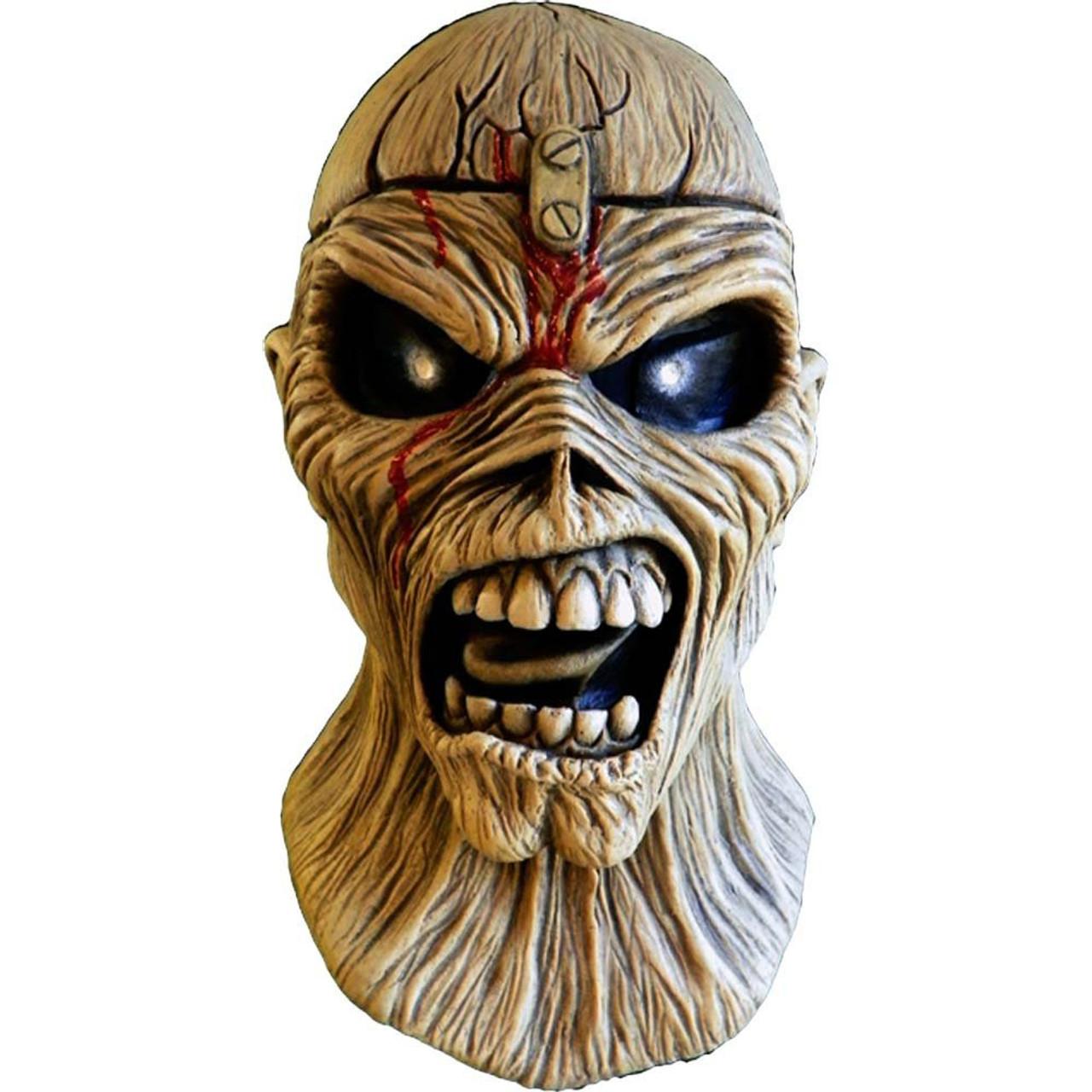 Iron Maiden Aces High Piece Of Mind Eddie Costume Prop Mask Trick Or Treat  Studios   ToyWiz