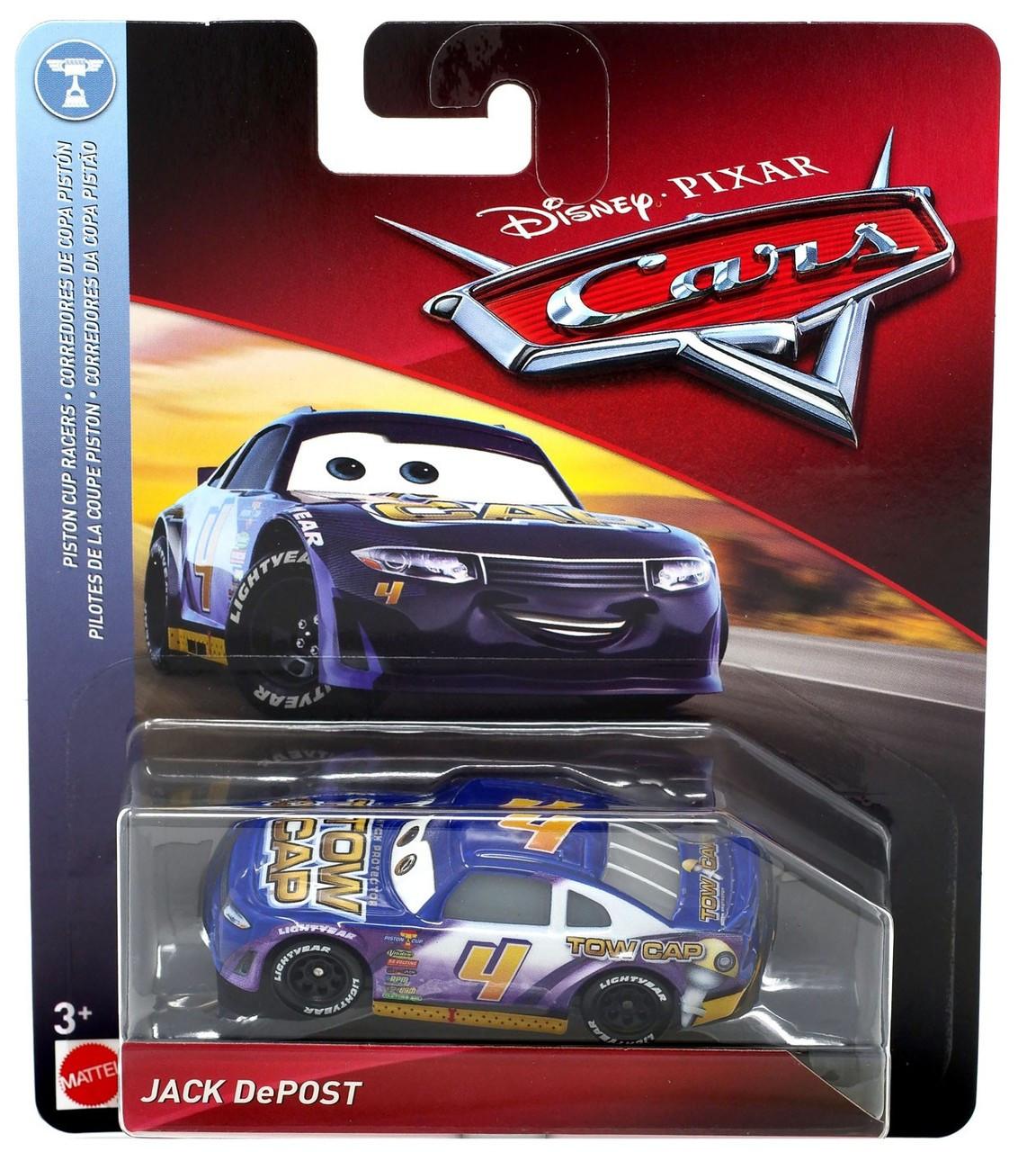 cars 3 toys  Disney / Pixar Cars Cars 6 Piston Cup Racers Jack DePost Diecast Car