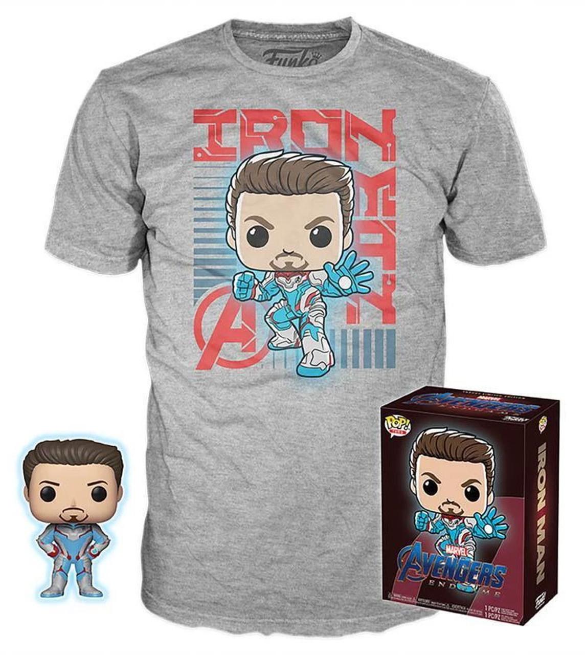 cea113d5 Funko Marvel Avengers Endgame Funko POP Marvel Iron Man Exclusive Vinyl  Figure T-Shirt X-Large - ToyWiz