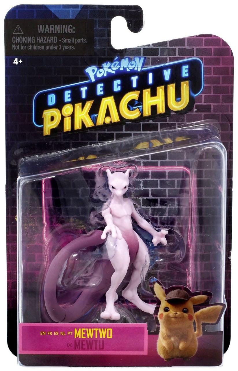 Pokemon Detective Pikachu Mewtwo Figure Wicked Cool Toys Toywiz