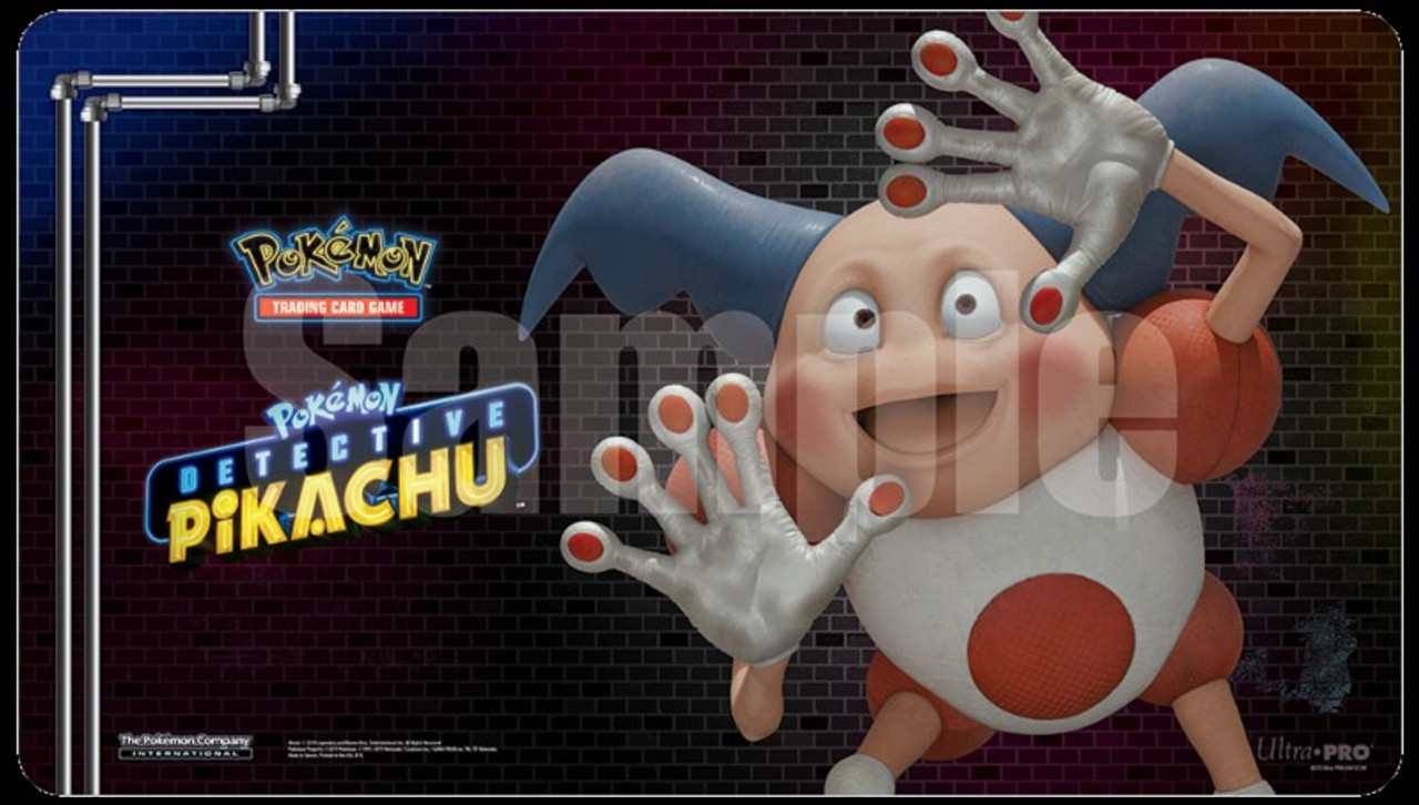 Ultra Pro Pokemon Detective Pikachu Card Supplies Mr Mime Playmat Toywiz