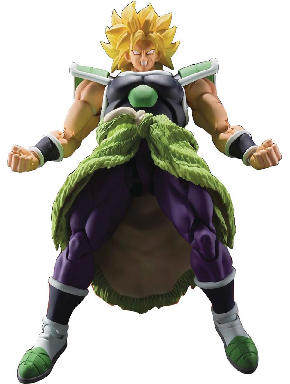 2 PRE-ORDER S.H.Figuarts Dragon Ball Super Broly Movie Action Figure Ver