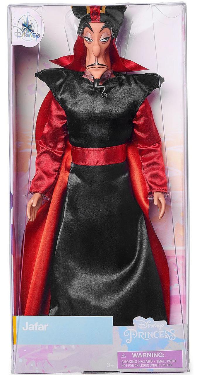 "Aladdin Villain Disney Store Classic Collection Animated NEW JAFAR 12/"" Doll"