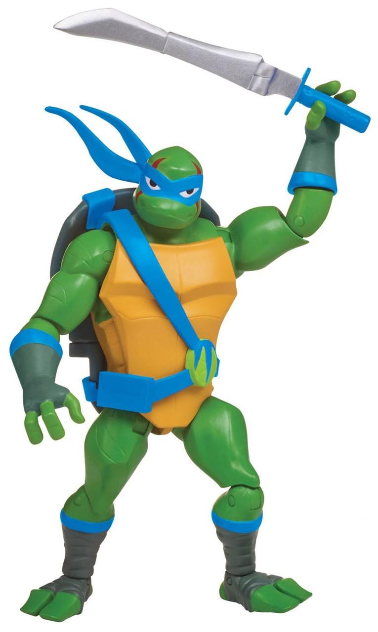 Tales Of The Teenage Mutant Ninja Turtles Battle Shell Leonardo Figure
