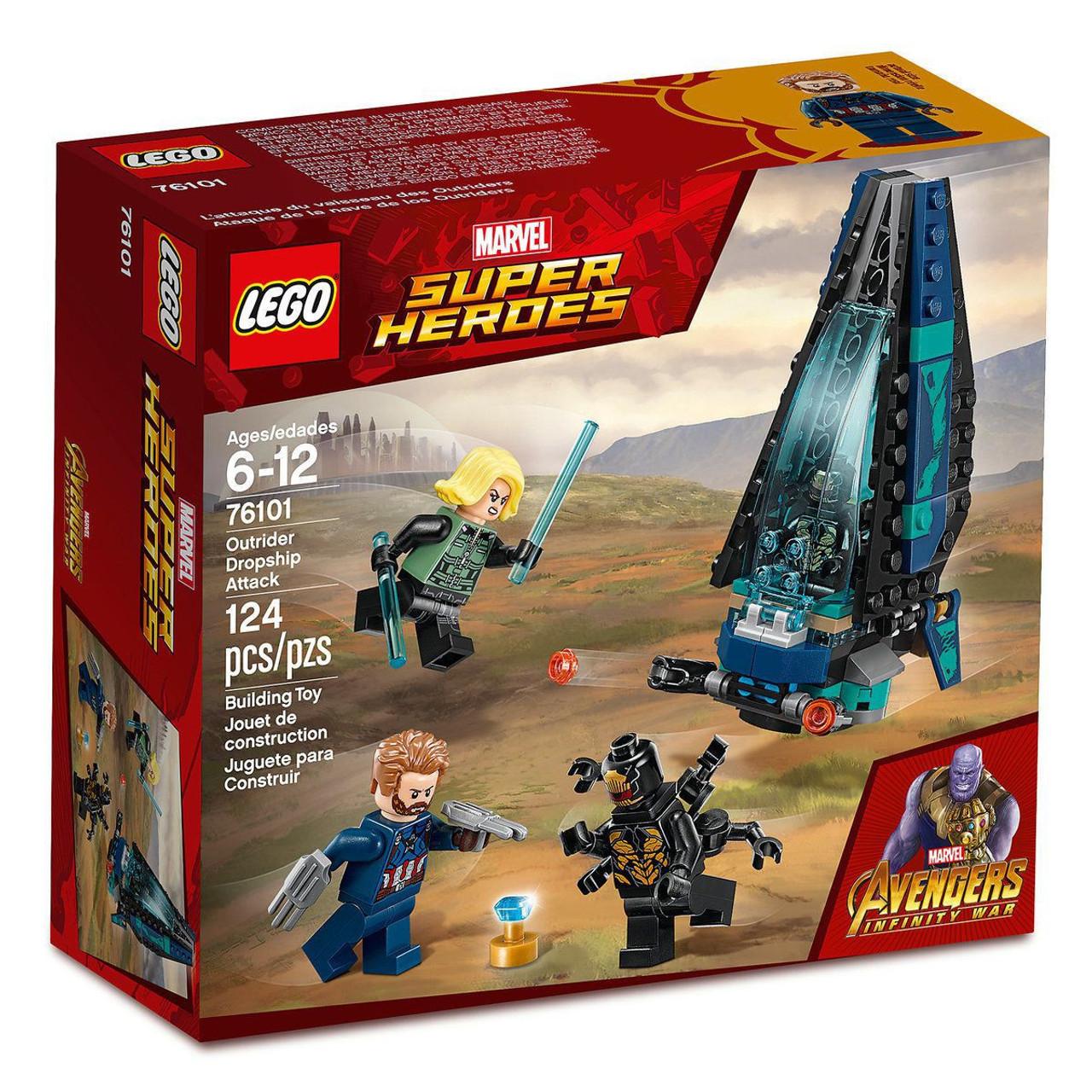 Lego Marvel Super Heroes All Six Infinity Stones