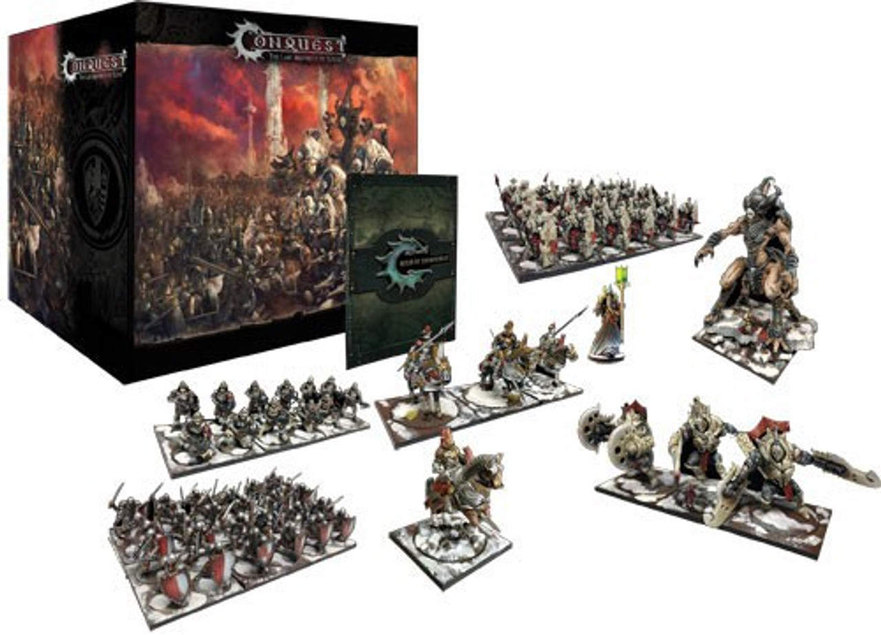 Conquest The Last Argument of Kings Core 2-Player Starter Miniature Game  Box Set Para Bellum - ToyWiz