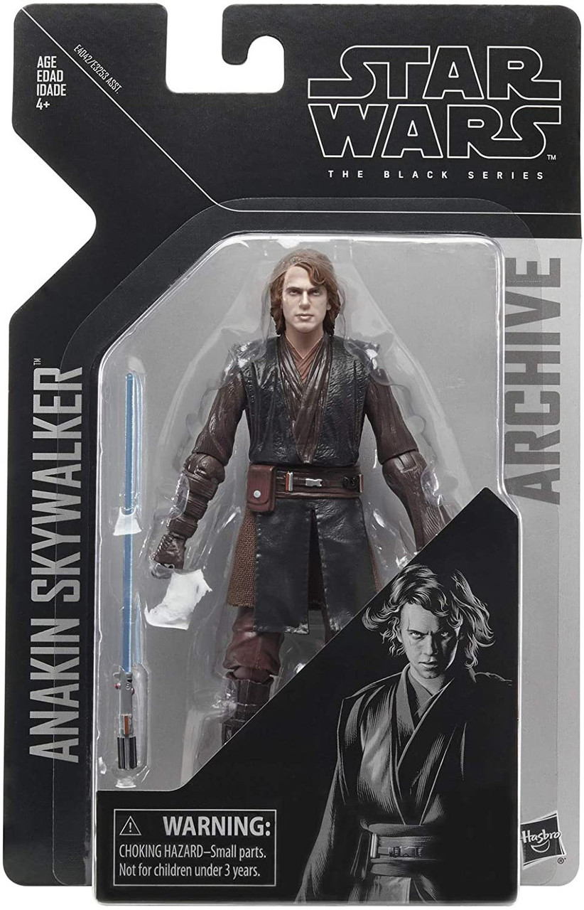 Star Wars Revenge Of The Sith Black Series Archives Wave 2 Anakin Skywalker Action Figure Hasbro Toys Toywiz