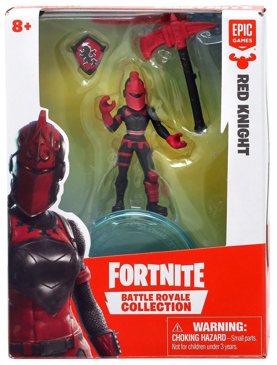 34055b1e67d Fortnite Epic Games Battle Royale Collection Red Knight 2 Mini Figure Moose  Toys - ToyWiz