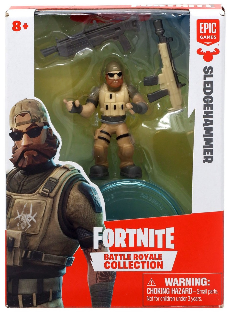 fortnite epic games battle royale collection sledgehammer 2 mini figure moose toys toywiz - fortnite sr