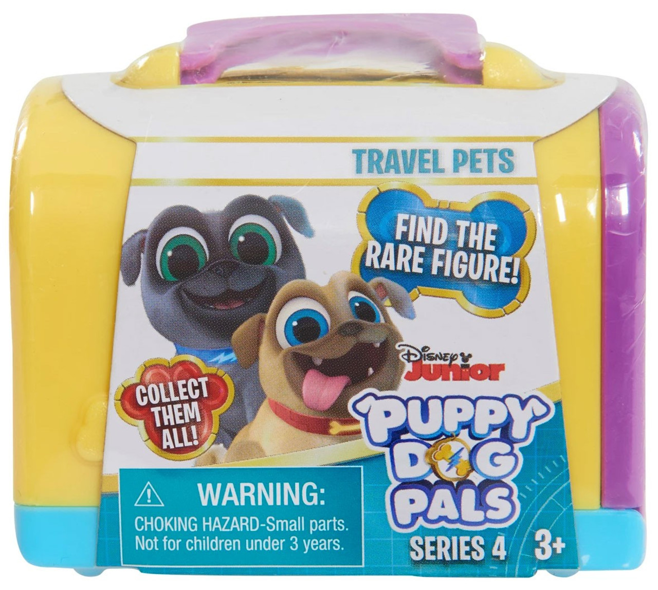 Disney Junior Puppy Dog Pals Series 4 Travel Pets Mystery Pack Yellow Just Play Toywiz