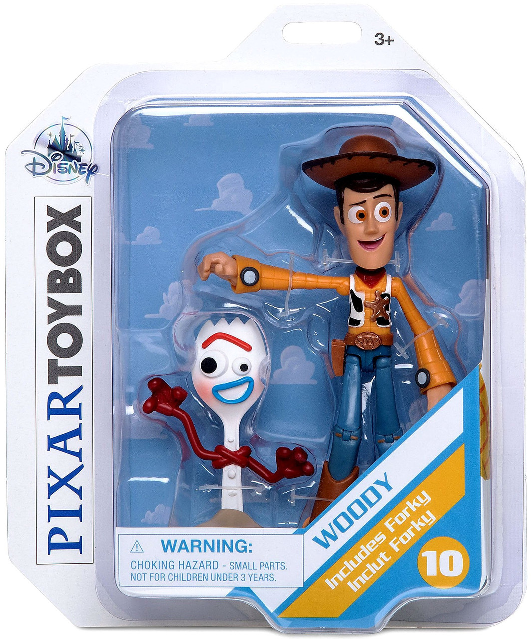 Loose Disney Toy Story 4 Forky 1.5-Inch Mini PVC Figure