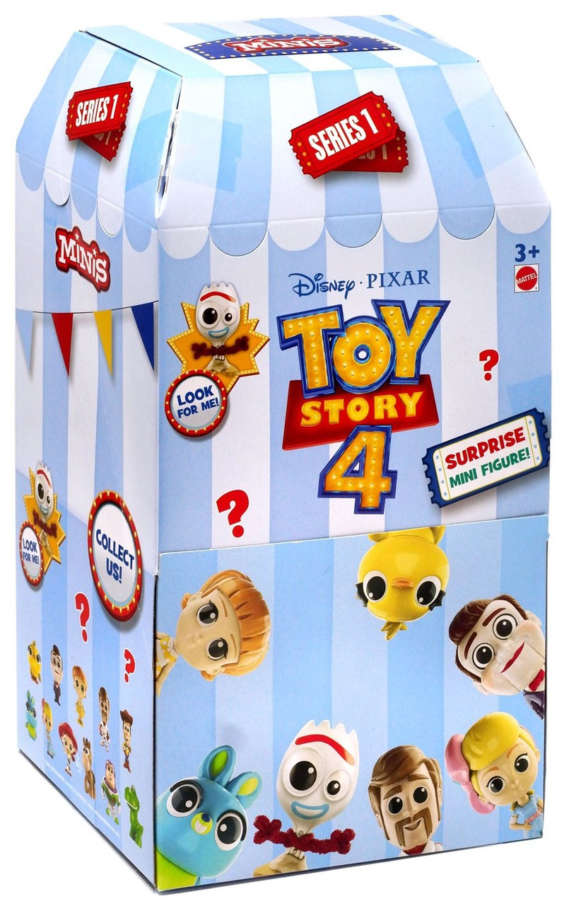 Toy Story 4 Minis Series 1 Mystery Box 36 Packs Mattel Toywiz