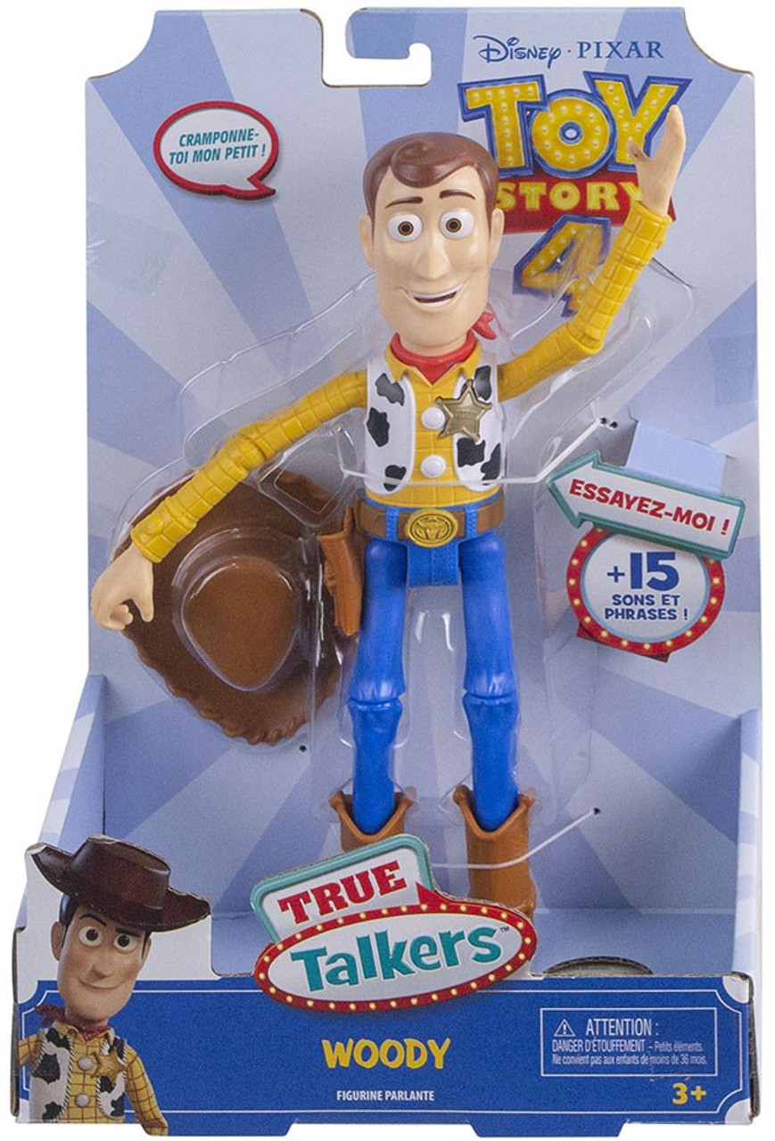 Toy Story 4 True Talkers Woody Action Figure