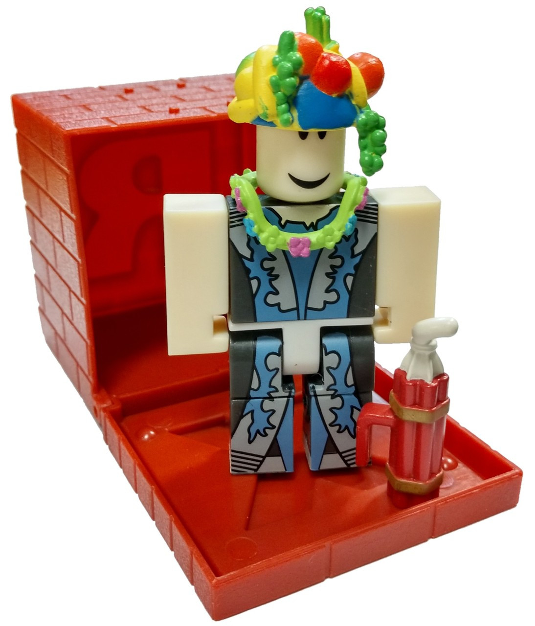 Roblox Red Series 4 Imaginaerum 3 Mini Figure With Red Cube And