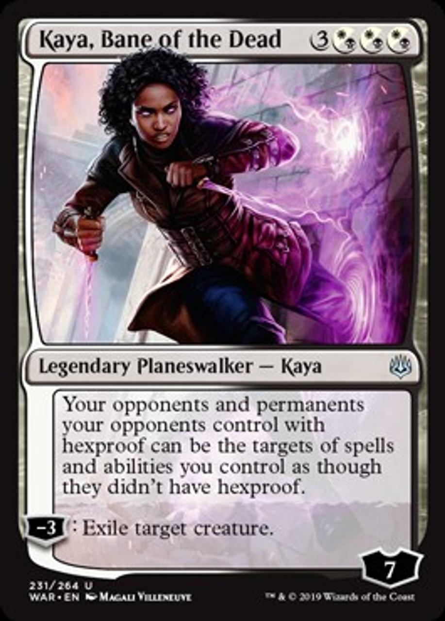 Kaya MTG WAR OF THE SPARK Bane of the Dead