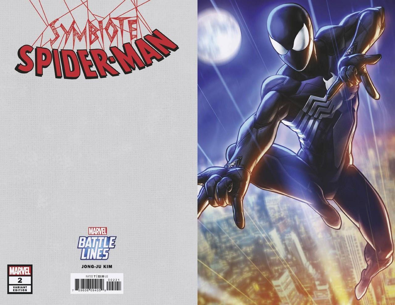 SYMBIOTE SPIDER-MAN #1 MAIN /& ARTGERM RON LIM VARIANT COVER SET 3 MARVEL COMICS