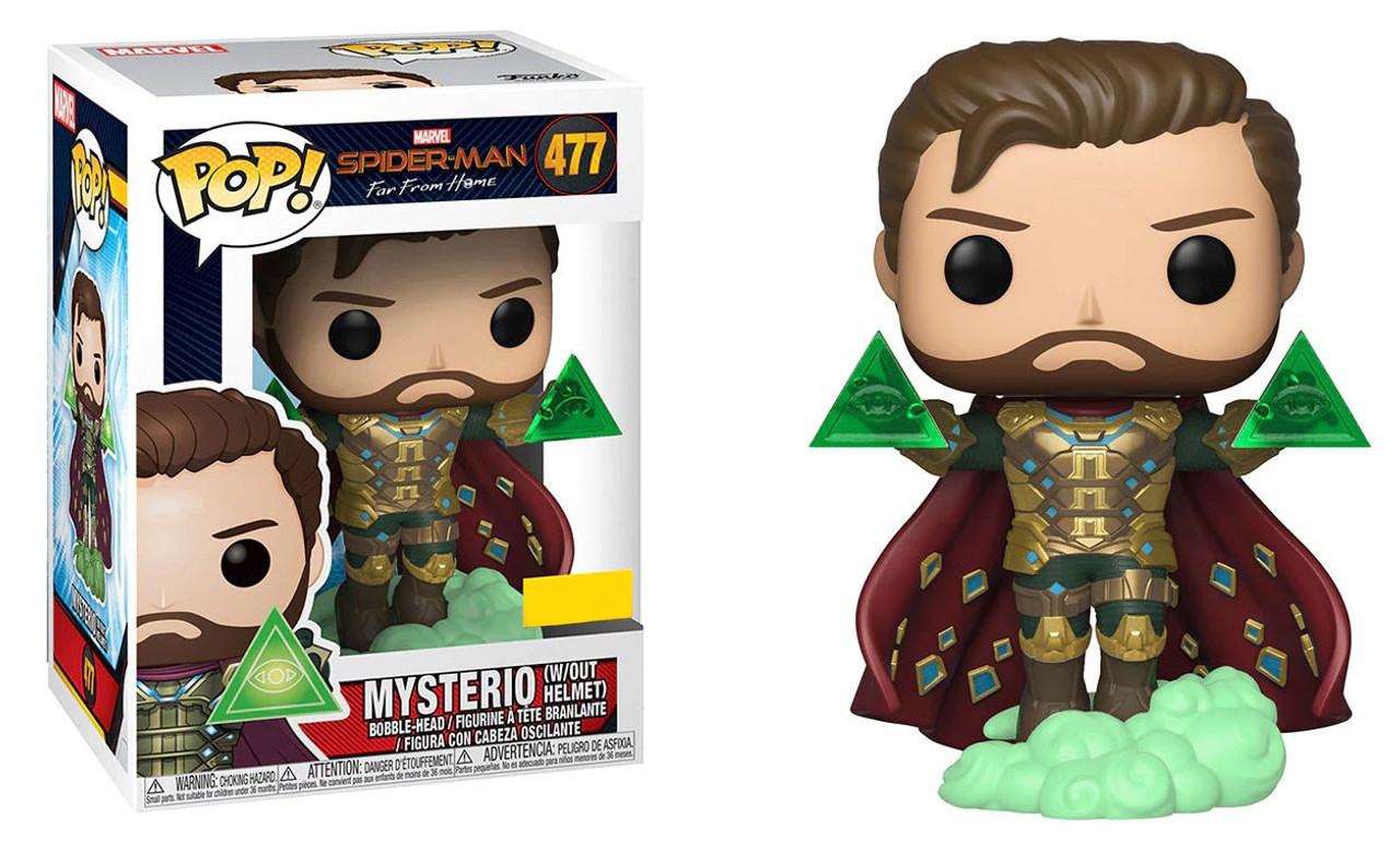 Funko Pop Marvel Spiderman Far From Home Mysterio