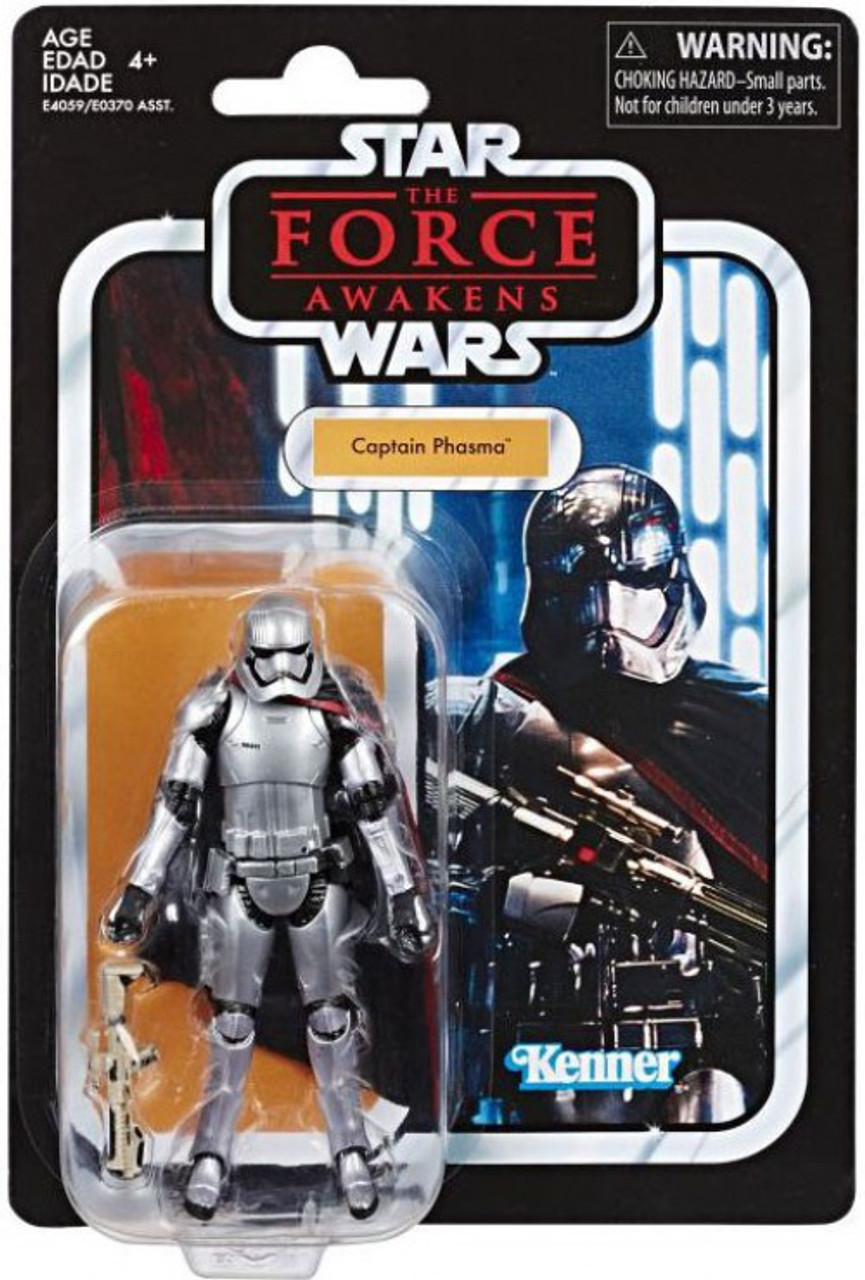 Star Wars The Force Awakens Captain Phasma Forest Mission Figure 3.75 Inch