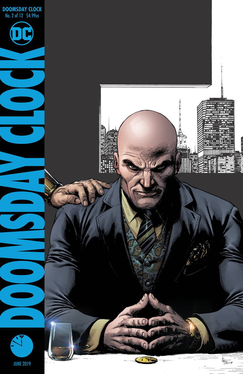 Dc Doomsday Clock Comic Book 2 Final Printing Dc Comics Toywiz