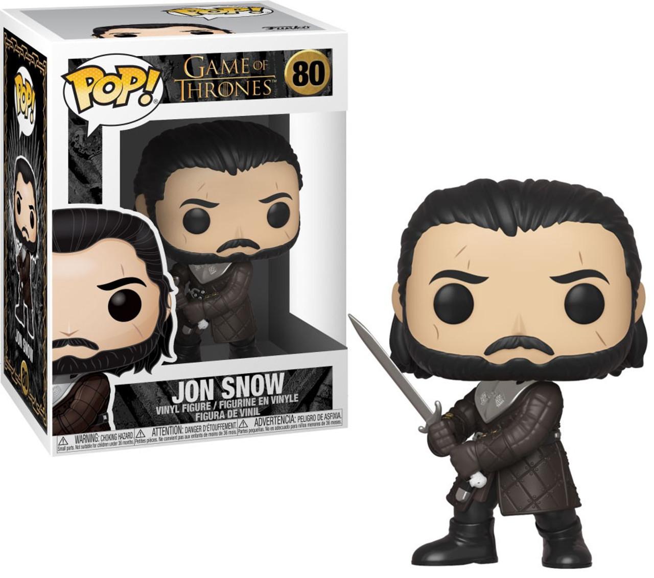 Game of Thrones-Jon Snow Brand New in Box Funko-POP TV