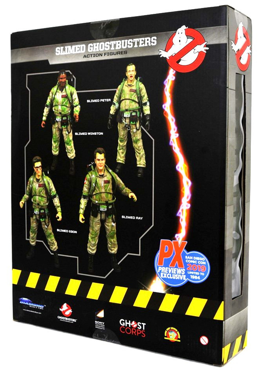 Slimed Peter Ghostbusters Series 4 By Diamond Select Toys