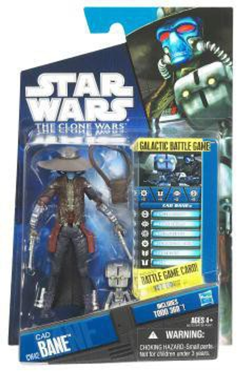 Star wars cad bane the clone wars CW22 action figure