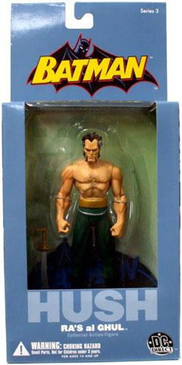 Batman Hush Series 3 Ras Al Ghul Action Figure Dc Direct Toywiz