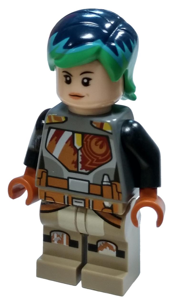 Two Blasters LEGO Star Wars Sabine Wren 75150 SW0742 Double Sided Face