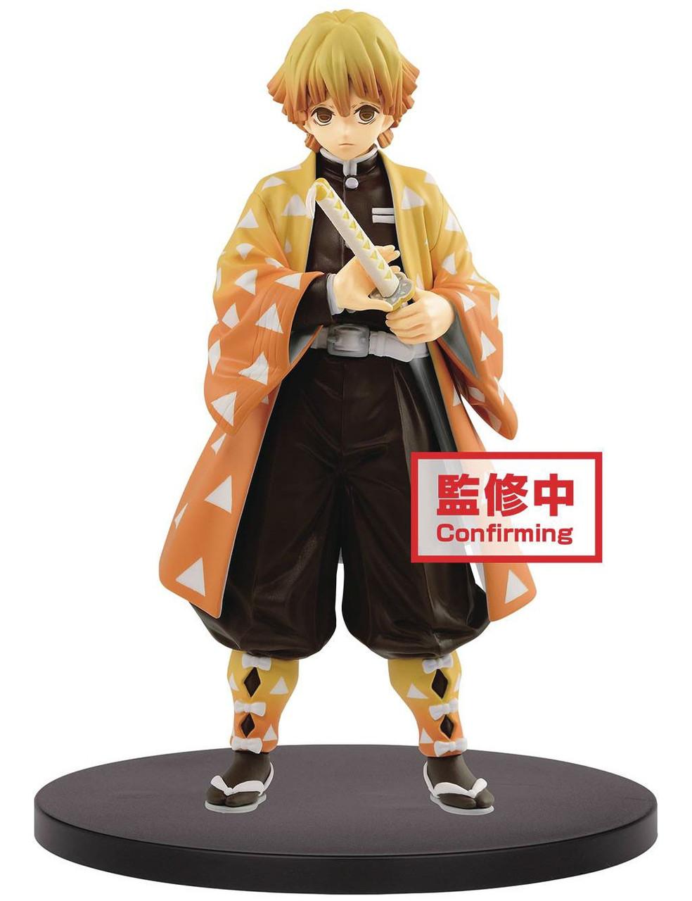 """Anime Demon Slayer Kimetsu no Yaiba Zenitsu Agatsuma Figure 6.3/"""" Toy"""