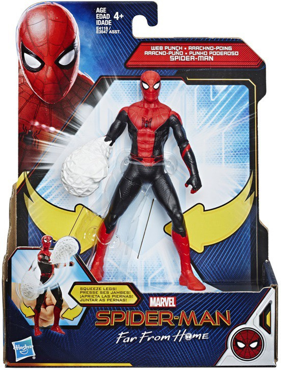 Marvel Superheroes Spiderman Far From Home Web Shield 6 New Action Figure Toy Comic Book Hero Action Figures Hero Toys