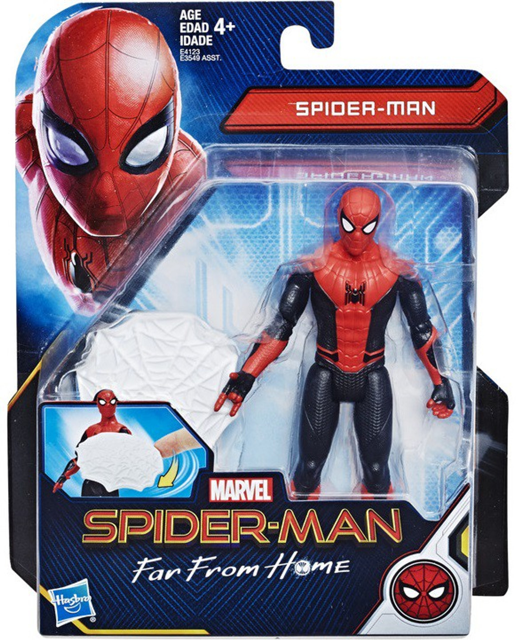 Marvel Spider Man Far From Home Web Shield Spider Man 6 Action Figure Hasbro Toys Toywiz