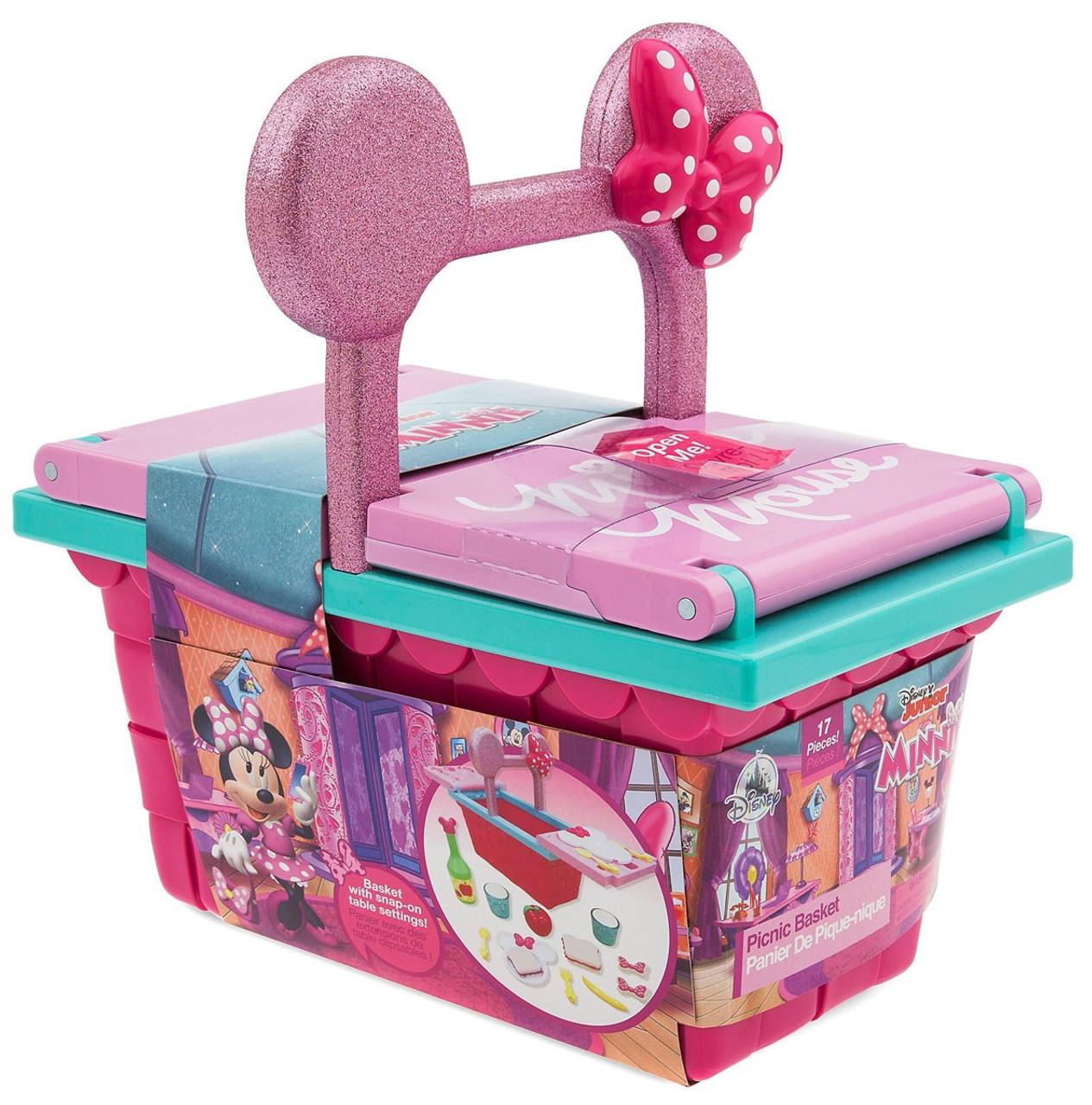 d599c3b5b597 Disney Minnie Mouse Picnic Basket Exclusive Playset [2019]