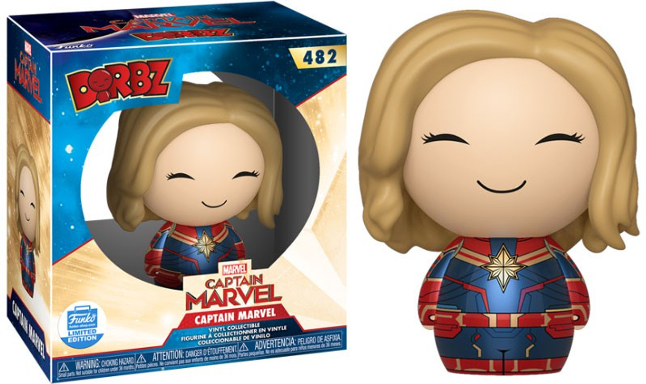 Captain Marvel Vers Funko Pop Vinyl Figure Official Marvel Collectables