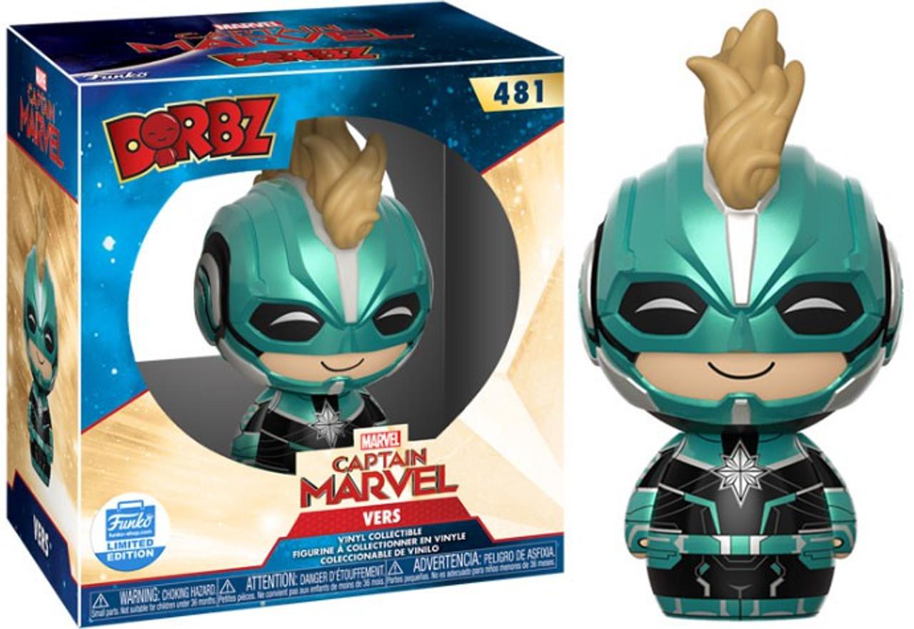Pop! Vers Starforce Helmet n°434 exclusive Captain Marvel Funko