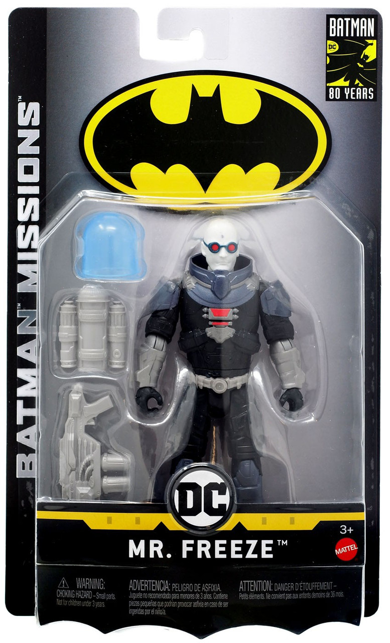 "Batman Power Attack Arctic Mission Ice Blast Mr Freeze 6/"" Figure"