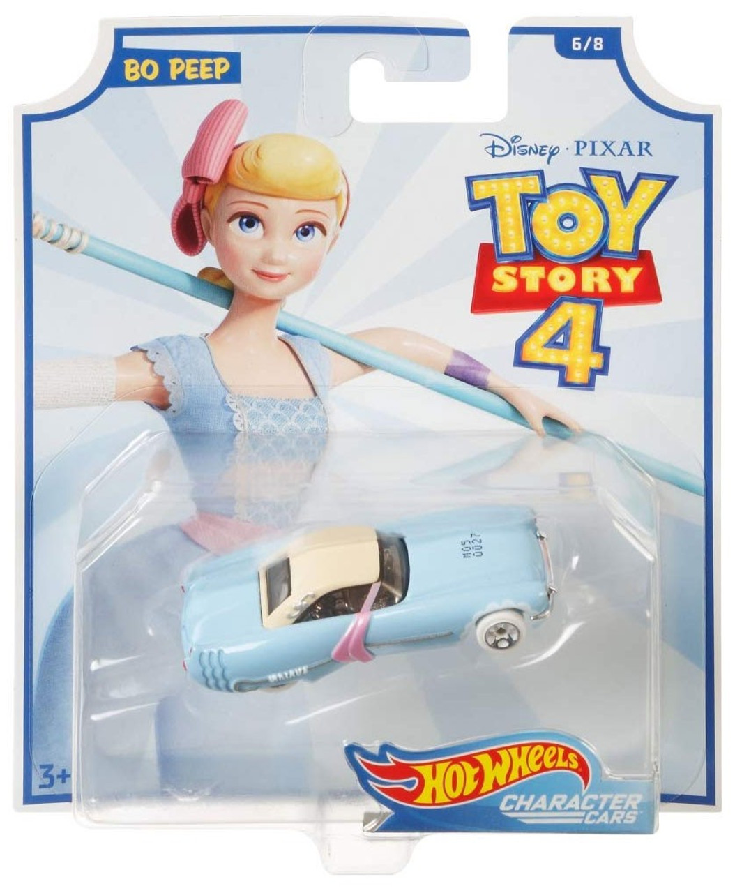 HOT WHEELS CHARACTER CARS DISNEY PIXAR TOY STORY 4 DUCKY AND BUNNY 8//8