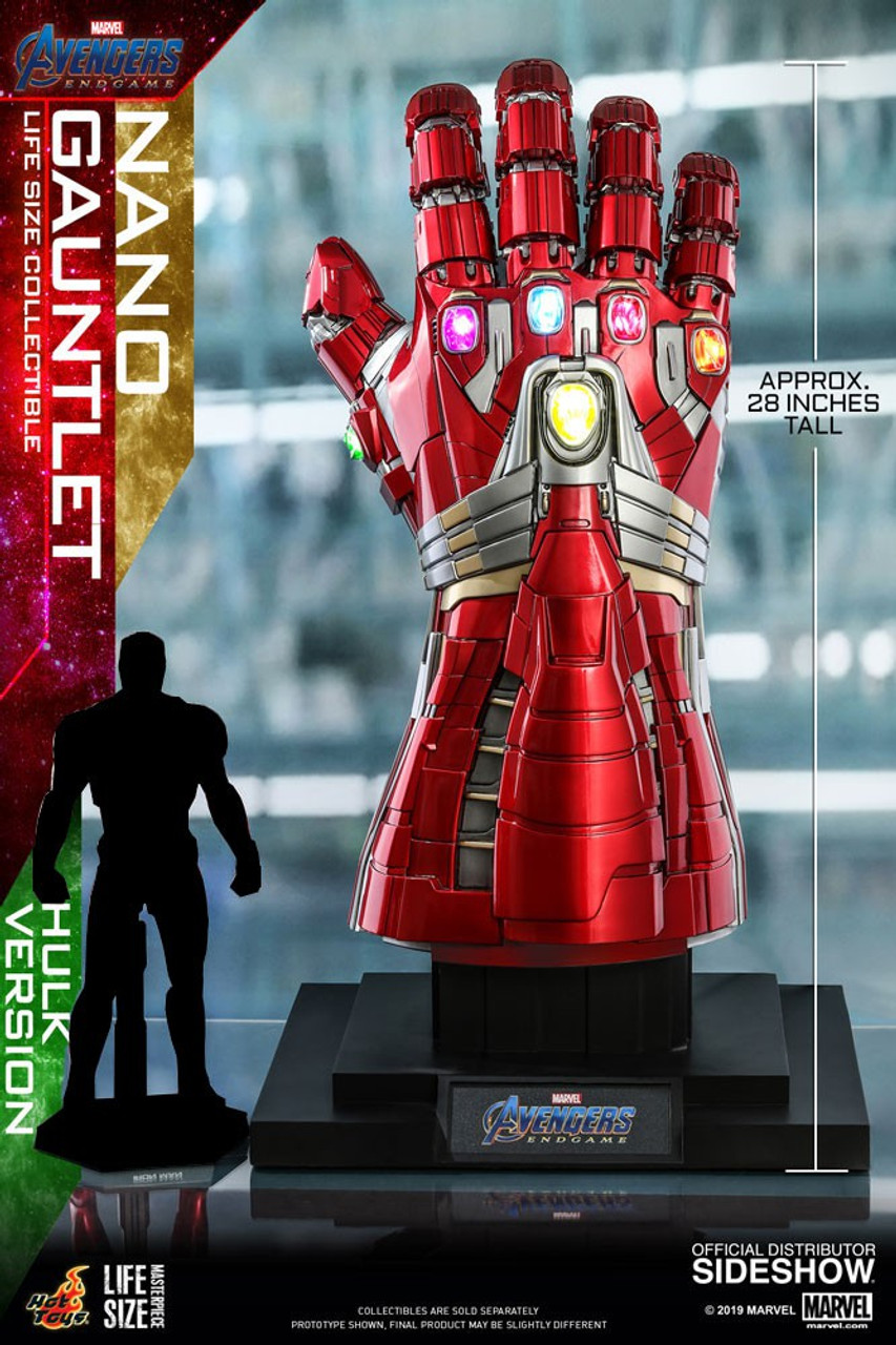 Hulk with Ironman Nano Gauntlet Marvel Avengers Power Punch Action ...